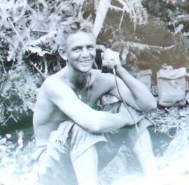 Norman Nicolay circa 1943